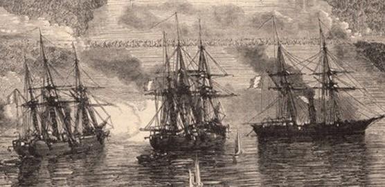 Chiến Hạm Pháp -Gia Định