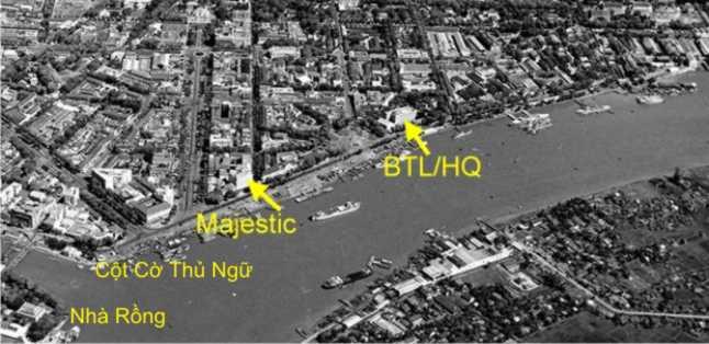 Không Ảnh Quân Cảng SG